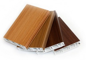 DoubleNature pvc windows with the look of wood