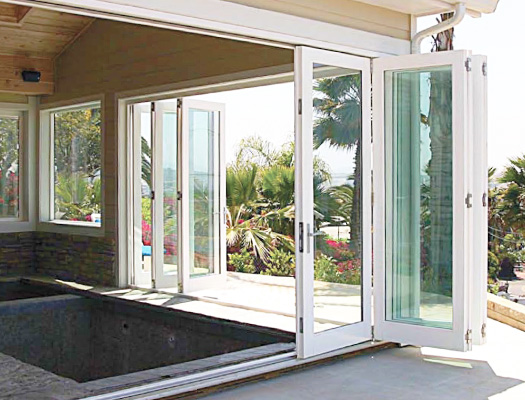 Vancouver Folding Doors & Overture - Exterior Folding Doors - Vinyl Windows u0026 Doors - Vinyltek