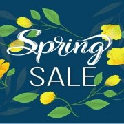 Spring Sale at Vinyltek