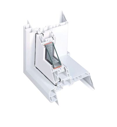 window frame corner detail