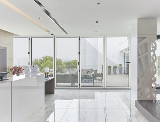 Cortizo Bi-Fold Folding Glass Doors